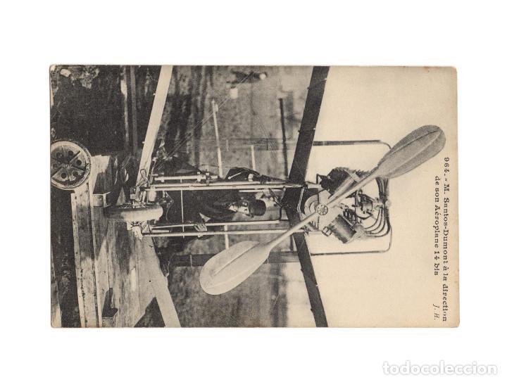 Postales: HISTORIA DE LA AVIACIÓN. ARENÁUTICA.AÉROPLANO. ZEPPELIN .DIRIGIBLE. GLOBO. 44 POSTALES. SIN CIRCULAR - Foto 14 - 191506235