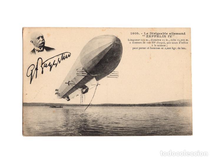 Postales: HISTORIA DE LA AVIACIÓN. ARENÁUTICA.AÉROPLANO. ZEPPELIN .DIRIGIBLE. GLOBO. 44 POSTALES. SIN CIRCULAR - Foto 15 - 191506235