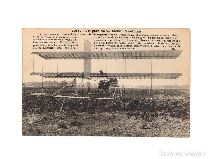 Postales: HISTORIA DE LA AVIACIÓN. ARENÁUTICA.AÉROPLANO. ZEPPELIN .DIRIGIBLE. GLOBO. 44 POSTALES. SIN CIRCULAR - Foto 17 - 191506235