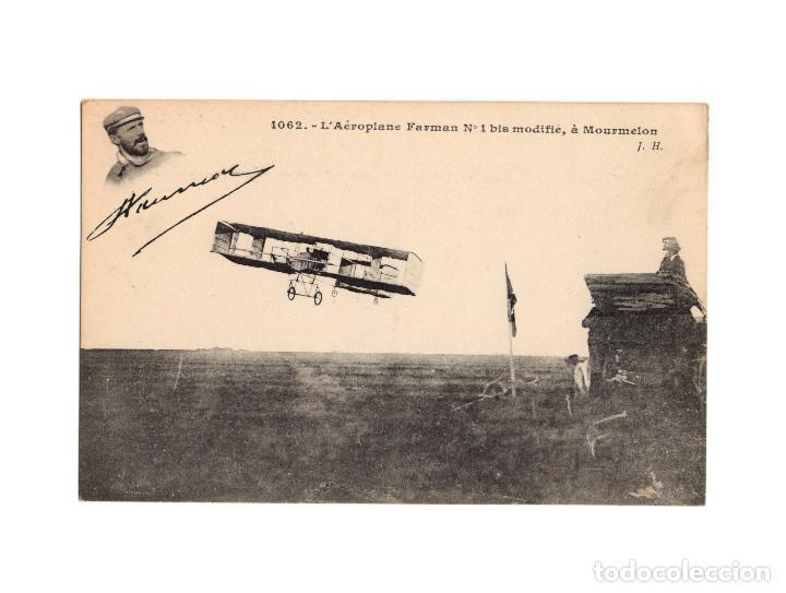 Postales: HISTORIA DE LA AVIACIÓN. ARENÁUTICA.AÉROPLANO. ZEPPELIN .DIRIGIBLE. GLOBO. 44 POSTALES. SIN CIRCULAR - Foto 18 - 191506235