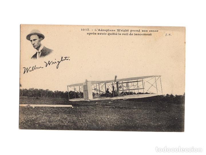 Postales: HISTORIA DE LA AVIACIÓN. ARENÁUTICA.AÉROPLANO. ZEPPELIN .DIRIGIBLE. GLOBO. 44 POSTALES. SIN CIRCULAR - Foto 19 - 191506235