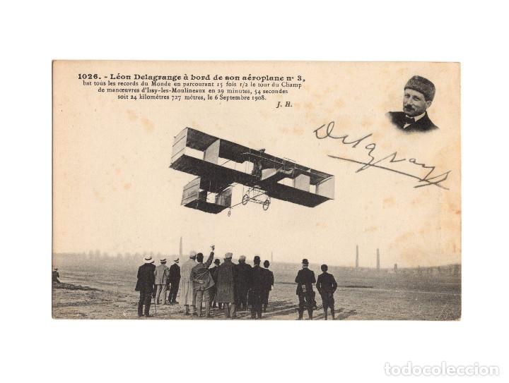 Postales: HISTORIA DE LA AVIACIÓN. ARENÁUTICA.AÉROPLANO. ZEPPELIN .DIRIGIBLE. GLOBO. 44 POSTALES. SIN CIRCULAR - Foto 21 - 191506235