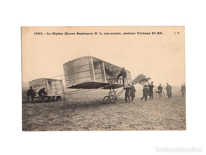 Postales: HISTORIA DE LA AVIACIÓN. ARENÁUTICA.AÉROPLANO. ZEPPELIN .DIRIGIBLE. GLOBO. 44 POSTALES. SIN CIRCULAR - Foto 25 - 191506235