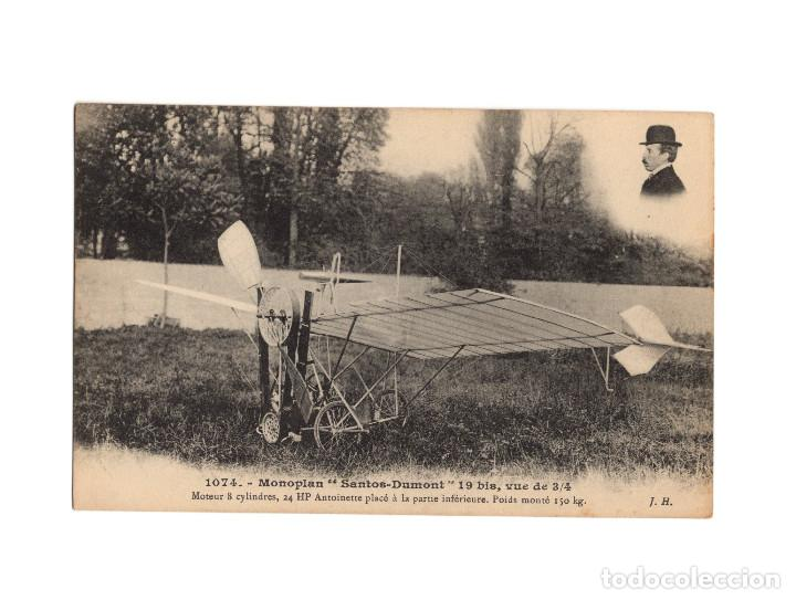 Postales: HISTORIA DE LA AVIACIÓN. ARENÁUTICA.AÉROPLANO. ZEPPELIN .DIRIGIBLE. GLOBO. 44 POSTALES. SIN CIRCULAR - Foto 32 - 191506235