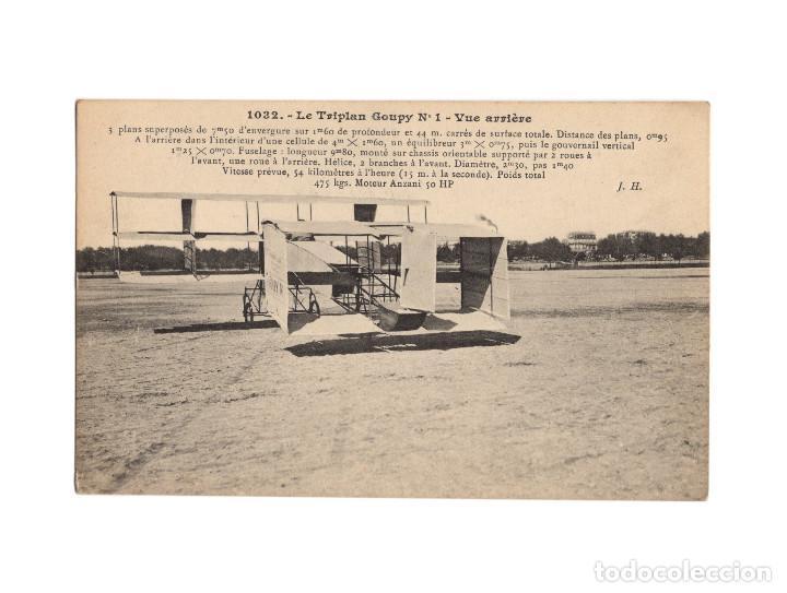 Postales: HISTORIA DE LA AVIACIÓN. ARENÁUTICA.AÉROPLANO. ZEPPELIN .DIRIGIBLE. GLOBO. 44 POSTALES. SIN CIRCULAR - Foto 33 - 191506235