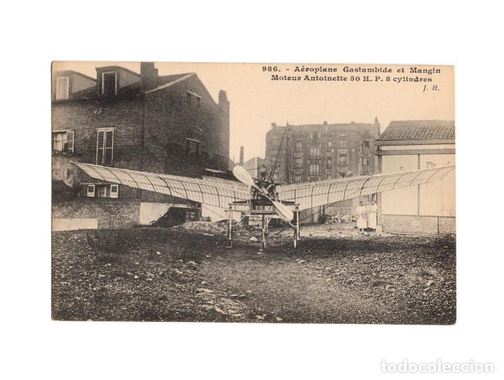 Postales: HISTORIA DE LA AVIACIÓN. ARENÁUTICA.AÉROPLANO. ZEPPELIN .DIRIGIBLE. GLOBO. 44 POSTALES. SIN CIRCULAR - Foto 35 - 191506235