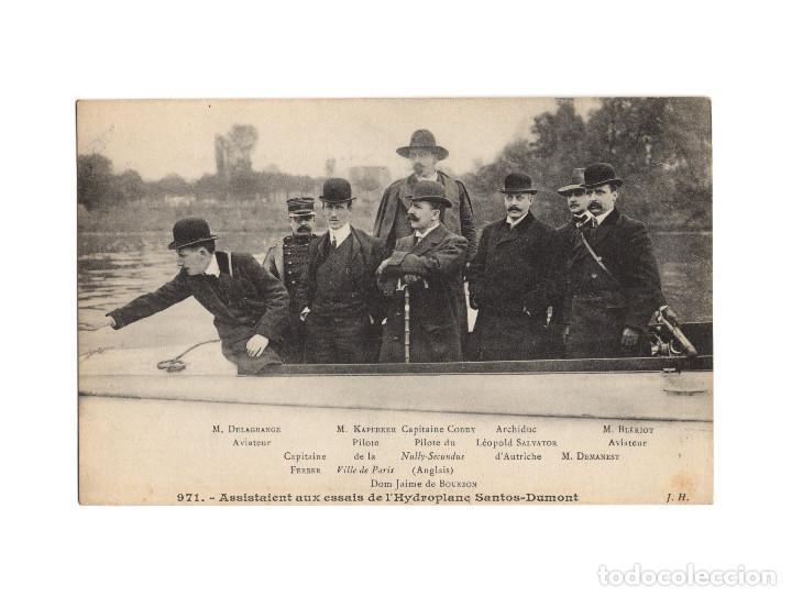 Postales: HISTORIA DE LA AVIACIÓN. ARENÁUTICA.AÉROPLANO. ZEPPELIN .DIRIGIBLE. GLOBO. 44 POSTALES. SIN CIRCULAR - Foto 36 - 191506235
