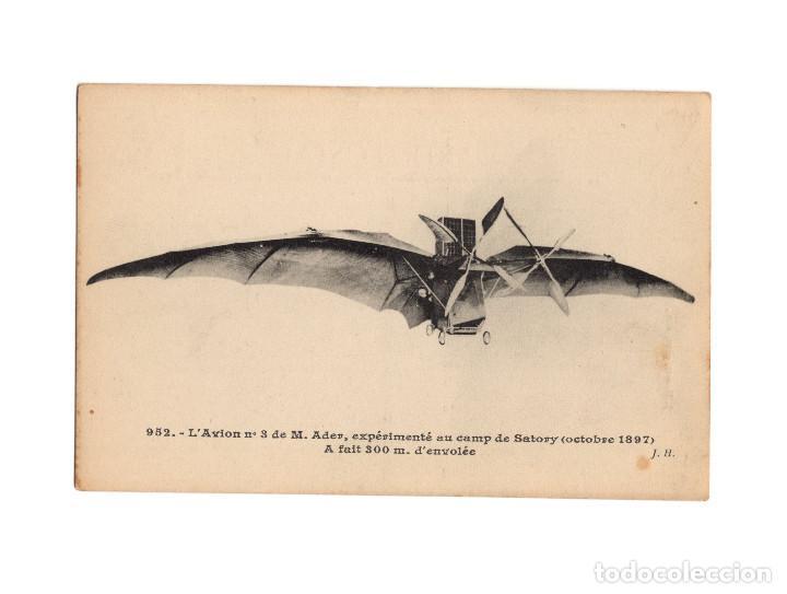 Postales: HISTORIA DE LA AVIACIÓN. ARENÁUTICA.AÉROPLANO. ZEPPELIN .DIRIGIBLE. GLOBO. 44 POSTALES. SIN CIRCULAR - Foto 37 - 191506235