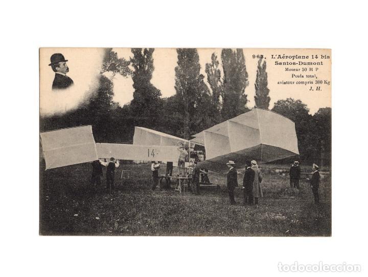 Postales: HISTORIA DE LA AVIACIÓN. ARENÁUTICA.AÉROPLANO. ZEPPELIN .DIRIGIBLE. GLOBO. 44 POSTALES. SIN CIRCULAR - Foto 38 - 191506235