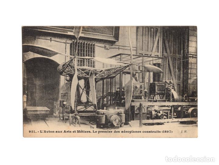 Postales: HISTORIA DE LA AVIACIÓN. ARENÁUTICA.AÉROPLANO. ZEPPELIN .DIRIGIBLE. GLOBO. 44 POSTALES. SIN CIRCULAR - Foto 39 - 191506235
