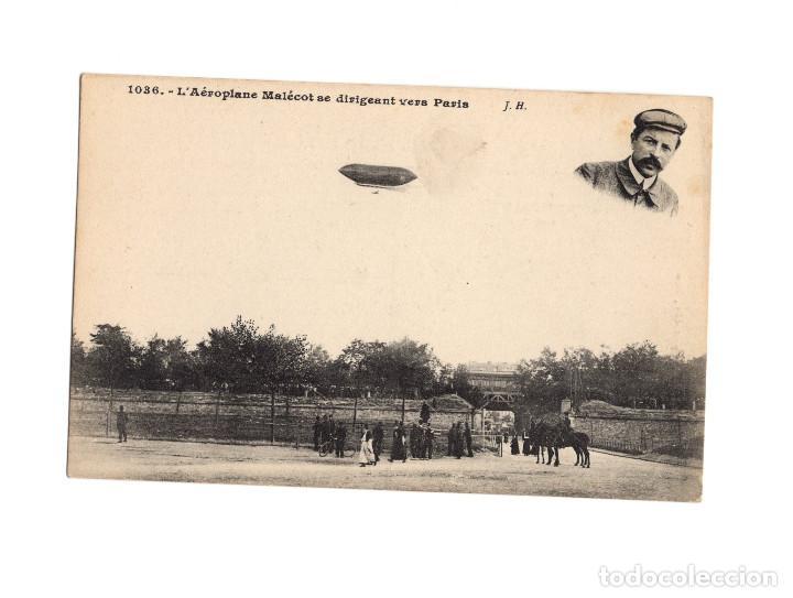 Postales: HISTORIA DE LA AVIACIÓN. ARENÁUTICA.AÉROPLANO. ZEPPELIN .DIRIGIBLE. GLOBO. 44 POSTALES. SIN CIRCULAR - Foto 40 - 191506235
