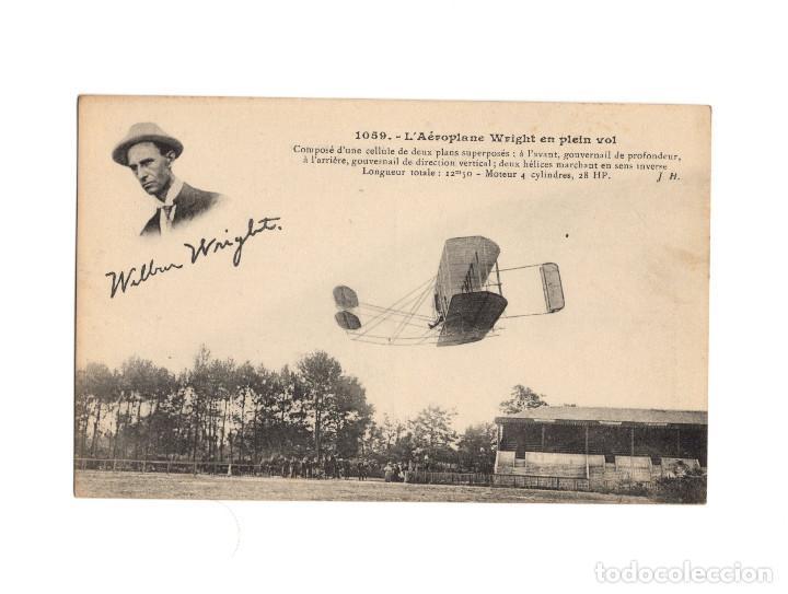 Postales: HISTORIA DE LA AVIACIÓN. ARENÁUTICA.AÉROPLANO. ZEPPELIN .DIRIGIBLE. GLOBO. 44 POSTALES. SIN CIRCULAR - Foto 41 - 191506235