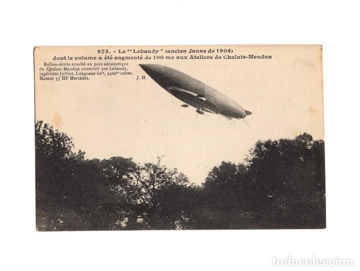 Postales: HISTORIA DE LA AVIACIÓN. ARENÁUTICA.AÉROPLANO. ZEPPELIN .DIRIGIBLE. GLOBO. 44 POSTALES. SIN CIRCULAR - Foto 42 - 191506235