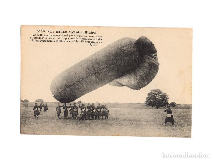 Postales: HISTORIA DE LA AVIACIÓN. ARENÁUTICA.AÉROPLANO. ZEPPELIN .DIRIGIBLE. GLOBO. 44 POSTALES. SIN CIRCULAR - Foto 43 - 191506235
