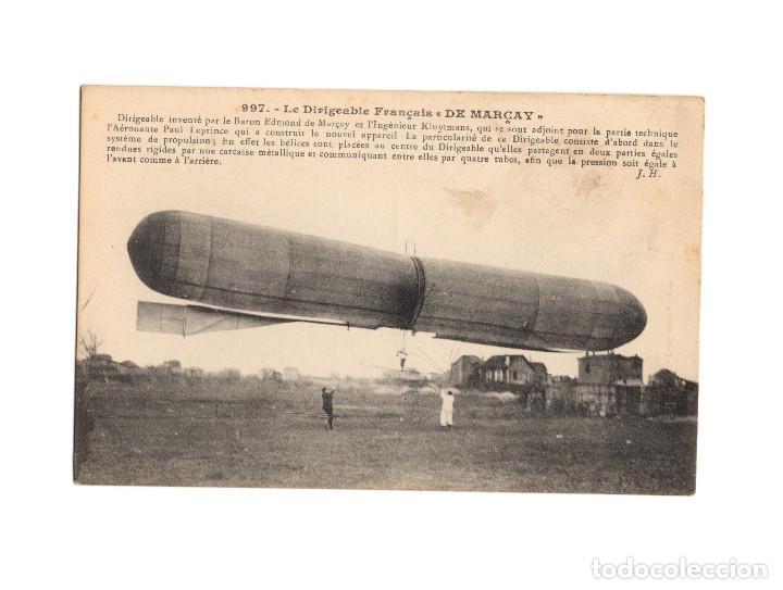 Postales: HISTORIA DE LA AVIACIÓN. ARENÁUTICA.AÉROPLANO. ZEPPELIN .DIRIGIBLE. GLOBO. 44 POSTALES. SIN CIRCULAR - Foto 44 - 191506235