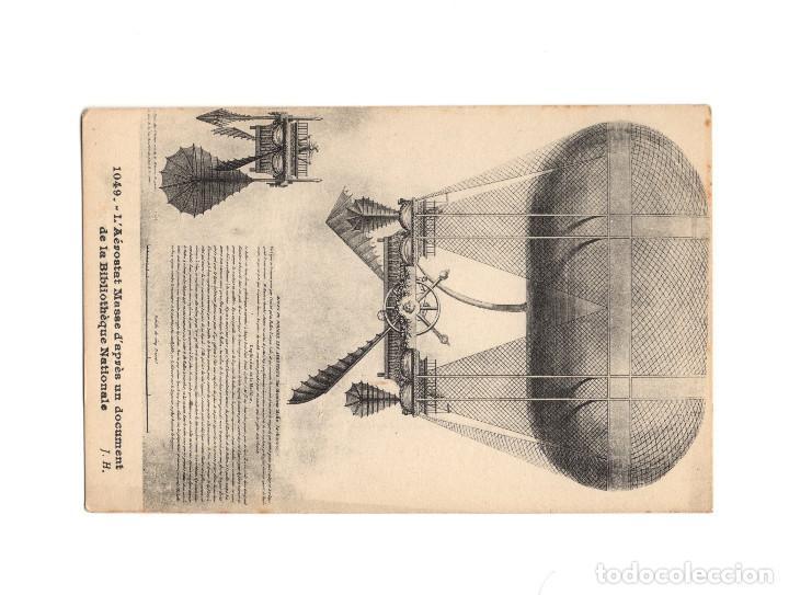 Postales: HISTORIA DE LA AVIACIÓN. ARENÁUTICA.AÉROPLANO. ZEPPELIN .DIRIGIBLE. GLOBO. 44 POSTALES. SIN CIRCULAR - Foto 45 - 191506235