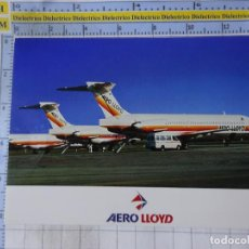 Postales: POSTAL DE AVIONES AEROLÍNEAS. AEROLÍNEA AERO LLOYD ALEMANIA. MD83. 1661. Lote 191704857