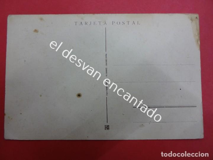 Postales: Raid ESPAÑA-ARGENTINA. Postal conmemorativa vuelo del PLUS ULTRA - Foto 2 - 192641242