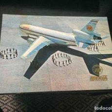 Postales: POSTAL DE IBERIA AVION DC 10/30 - LA DE LA FOTO VER TODAS MIS POSTALES. Lote 194374573
