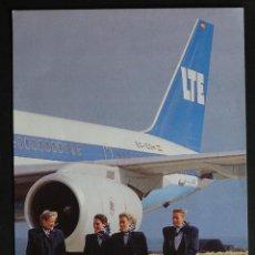 Postales: POSTAL DE LA ANTIGUA COMPAÑIA AEREA ESPAÑOLA LTE, BOEING B 757-200.SIN CIRCULAR . Lote 194488541