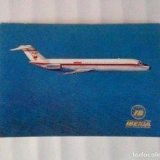 Postales: TARJETA POSTAL. IBERIA. AÑO 1974. JET DOUGLAS DC-9. Lote 194493622