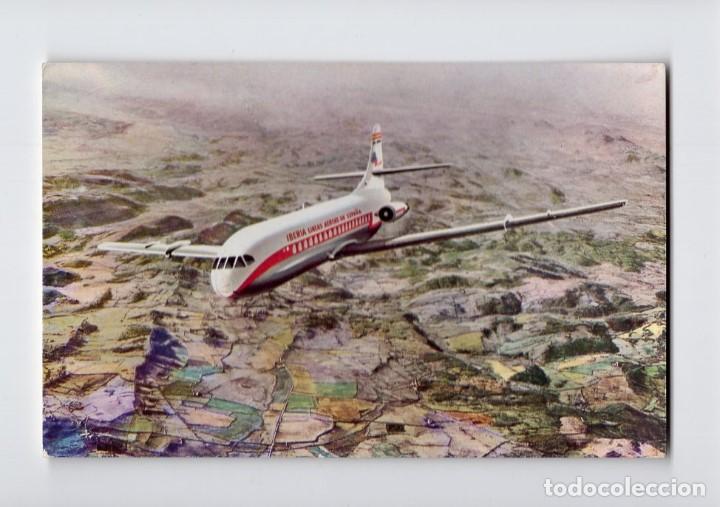 IBERIA: CARAVELLE VI R -IMPR. RIEUSSET, 1963- (Postales - Postales Temáticas - Aeroplanos, Zeppelines y Globos)
