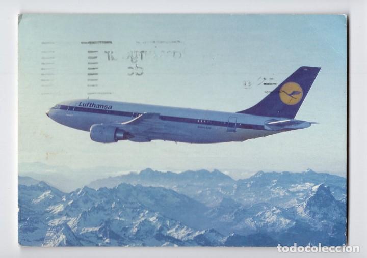 LUFTHANSA: AIRBUS A310 (Postales - Postales Temáticas - Aeroplanos, Zeppelines y Globos)