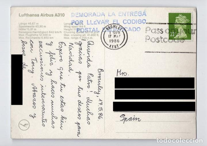 Postales: LUFTHANSA: Airbus A310 - Foto 2 - 195197022