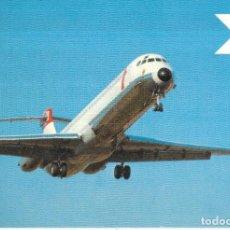 Postales: == PN740 - POSTAL - AUSTRIAN AIRLINES - DOUGLAS DC-9 / SUPER 80. Lote 196675321