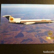 Postales: AVION IBERIA BOEING 727/256. Lote 197364455