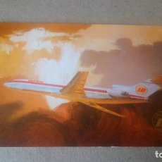 Cartes Postales: BOEING 727/256 - POSTAL DE IBERIA, LINEAS AÉREAS INTERNACIONALES DE ESPAÑA. Lote 198381391
