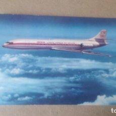 Cartes Postales: CARAVELLE X-R - POSTAL DE IBERIA, LINEAS AÉREAS INTERNACIONALES DE ESPAÑA. Lote 198381407