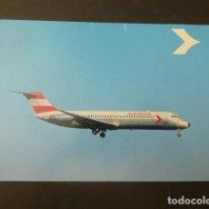 Postales: AVION AUSTRIAN. Lote 198637961