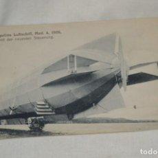 Postales: POSTAL ANTIGUA - ZEPPELINS LUFTSCHIFF / MODELO 4 / AÑO 1908 - SIN CIRCULAR ¡MIRA!. Lote 198648368