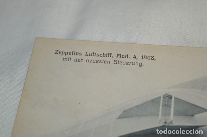 Postales: Postal antigua - ZEPPELINS Luftschiff / Modelo 4 / Año 1908 - Sin circular ¡Mira! - Foto 2 - 198648368