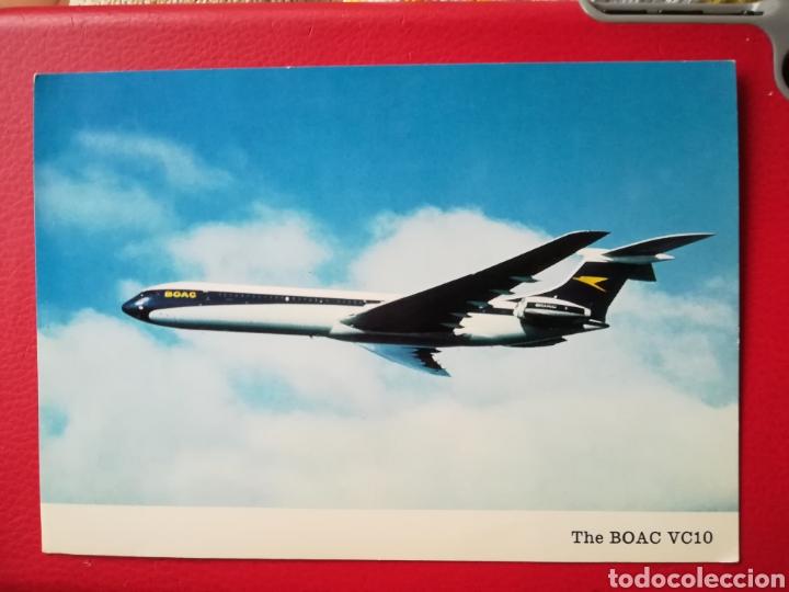 BOAC VC10 AVION AVIATION BRITISH AIRCRAFT (Postales - Postales Temáticas - Aeroplanos, Zeppelines y Globos)