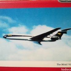 Postales: BOAC VC10 AVION AVIATION BRITISH AIRCRAFT. Lote 198781555