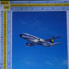 Cartes Postales: POSTAL DE AVIONES AEROLÍNEAS. AVIÓN LUFTHANSA ALEMANIA. 840. Lote 202672860
