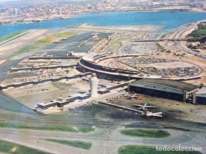 Postales: POSTAL AVIÓN. AEROPUERTO DE LA GUARDIA AIRPORT. USA. ESTADOS UNIDOS. - Foto 3 - 203770443