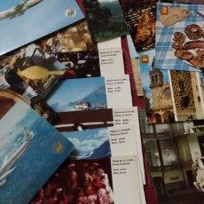 Postales: 20 POSTALES PUBLICITARIAS DE IBERIA LINEAS AEREAS. Lote 204194838