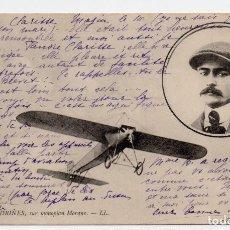 Postales: POSTAL DE AVIONES MUY ANTIGUOS, ENTRE 1909 Y 1914 LOS PRIMEROS AEROPLANOS. Lote 204374195