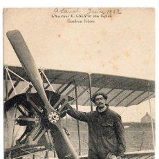 Postales: POSTAL DE AVIONES MUY ANTIGUOS, ENTRE 1909 Y 1914 LOS PRIMEROS AEROPLANOS. Lote 204374682