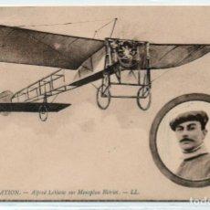 Postales: POSTAL DE AVIONES MUY ANTIGUOS, ENTRE 1909 Y 1914 LOS PRIMEROS AEROPLANOS. Lote 204377872