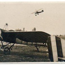 Postales: FOTO POSTAL DE AVIONES MUY ANTIGUOS, LOS PRIMEROS AEROPLANOS, GUADALAJARA. Lote 204401935