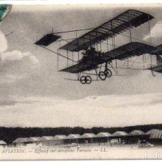 Postales: POSTAL DE AVIONES MUY ANTIGUOS, ENTRE 1909 Y 1914 LOS PRIMEROS AEROPLANOS. Lote 204402493