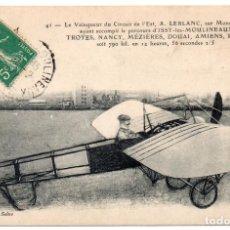 Postales: POSTAL DE AVIONES MUY ANTIGUOS, ENTRE 1909 Y 1914 LOS PRIMEROS AEROPLANOS. Lote 204404330
