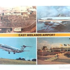 Postales: TARJETA POSTAL. EAST MIDLANDS AIRPORT. AVION. KINGSLEY POST CARD KN22638. Lote 205394418