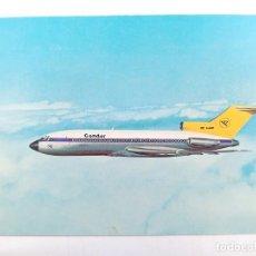 Postales: TARJETA POSTAL. CONDOR - EUROPA-JET - BOEING 727-30. POST CARD. Lote 205394763