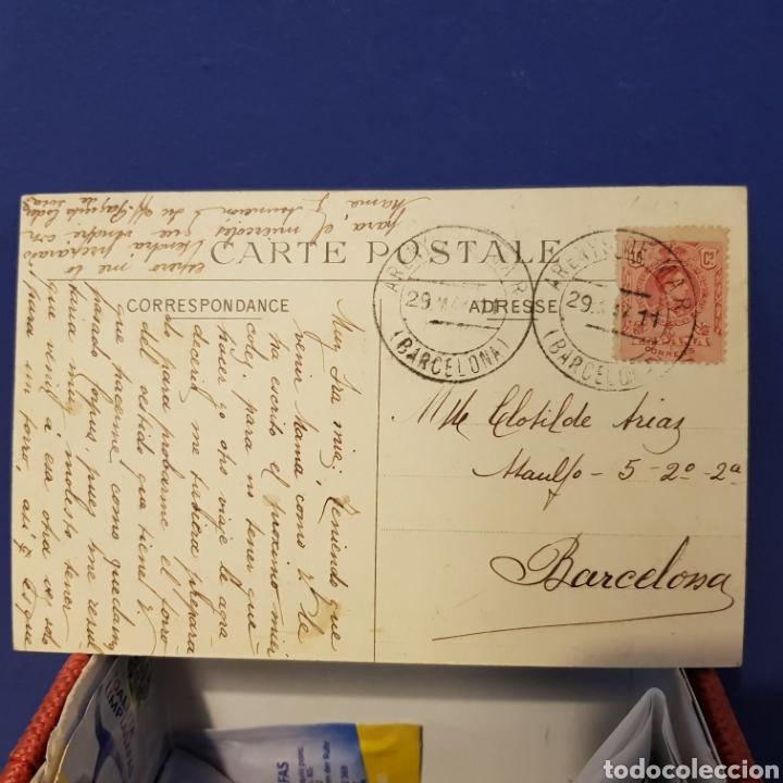 Postales: Postal Castelo de Widdeville con aviador sentado en avión. - Foto 2 - 205810221