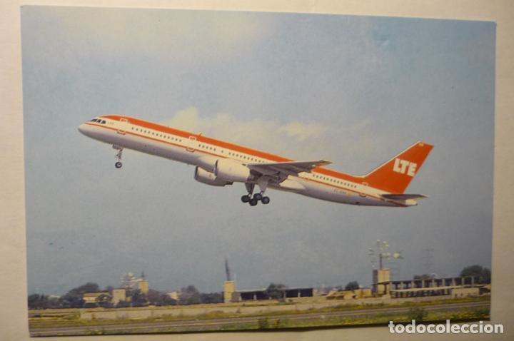 POSTAL AVION LTE - BOEING B 757 200 (Postales - Postales Temáticas - Aeroplanos, Zeppelines y Globos)